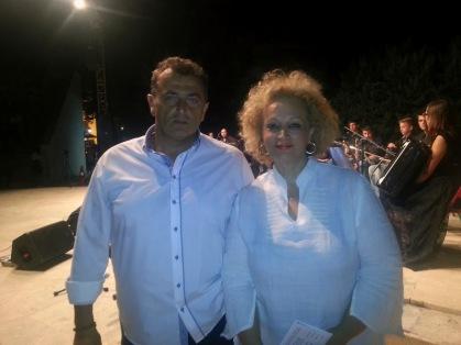 Θεόδωρος Παυλίδης και Παρθένα Μακρίδου Παρτσαλίδου - οι συμδιοργανωτές της εκδήλωσης