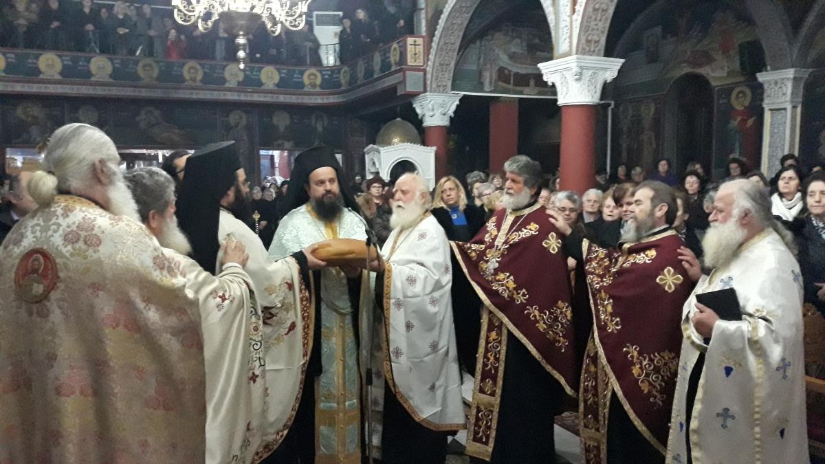 Λαμπρός εορτασμός στον Ιερό Ναό Αγίου Αντωνίου στον Σβορώνο