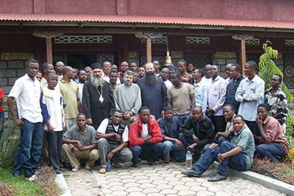 Ο Πρωτοσύγκελος της ιεράς Μητροπόλεώς μας, Αρχιμανδρίτης Γεώργιος Χρυσοστόμου στο Κονγκό